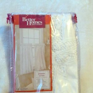 Better Homes And Gardens Accents - Set of two - 36 inch small window tier